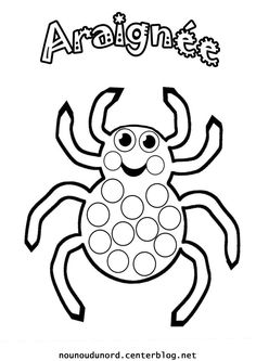 Home Decorating Style 2020 for Coloriage Halloween Gommette, you can see Coloriage Halloween Gommette and more pictures for Home Interior Designing 2020 19283 at SuperColoriage. Theme Halloween, Halloween Party Games, Halloween Spider, Halloween Pumpkins, Halloween Decorations, Halloween Crafts For Toddlers, Toddler Halloween, Do A Dot, Halloween Coloring