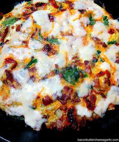 Bacon, Butter, Cheese & Garlic: Bacon & Potato Frittata