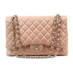 Chanel Blush Lambskin Maxi