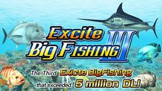 Experience our new fishing game with overwhelmingly evolved 3D graphics!!