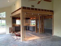 Kitchen minus walls