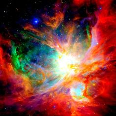The Orion Nebula (also known as Messier 42, M42, or NGC 1976) is a diffuse nebula situated south[b] of Orion's Belt in the constellation of Orion. Description from fineartamerica.com. I searched for this on bing.com/images