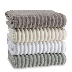 Turkish Ribbed Bath Towels, 100% Cotton - Bed Bath & Beyond