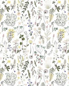 Sara Boccaccini Meadows (@boccaccinimeadows) в Instagram: «Morning wildflowers BOCCACCINI MEADOWS x @forthesmall  #patterns»