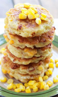 how to make creamed corn fritters