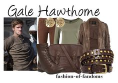 """""""Gale Hawthorne"""" by fofandoms ❤ liked on Polyvore"""