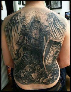 Warrior Angel Tattoos | Tattoo Ideas, Warriors Angels Tattoo, Angels Warriors Tattoo ...