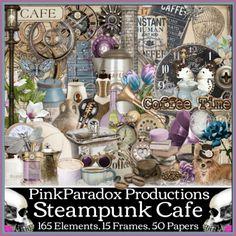 Steampunk Cafe