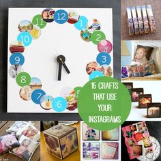 15 Fun Crafts That Use Your Instagrams