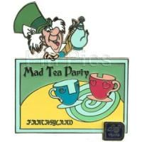 Pin 84812 WDW - 40th Anniversary of Walt Disney World® - Mad Tea Party