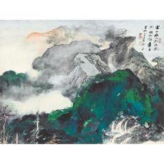 Zhang Daqian, Mountain Stream (HK$4-6m) HK$18.58m