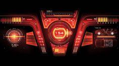 FUTURE DESIGN - Hi-Tech Car User Interface GUI / Dashboard Speedometer