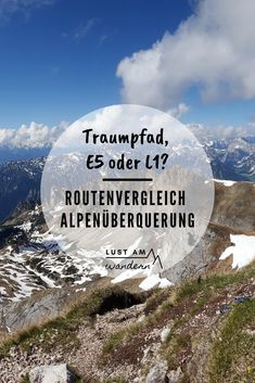 Alpenüberquerung: Der Routenvergleich If you want to cross the Alps, you are spoiled for choice: whi Europe Destinations, Holiday Destinations, Camping Holiday, Holiday Travel, Hiking Photography, Nature Photography, Travel The World Quotes, Hiking Quotes, Mountain Hiking