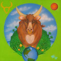natural, peaceful Taurus
