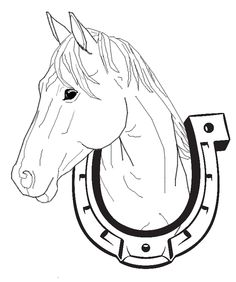 Horse Coloring Pages Picture 19