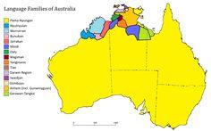 language families of australia