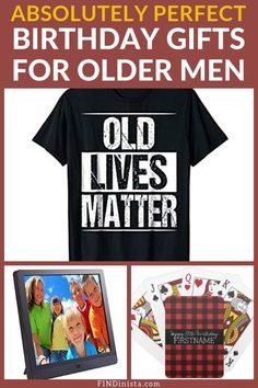Birthday Gifts for Older Men - Best Gift ideas for the Senior Man Birthday Gifts for Older Men – Looking for amazing birthday gifts for a senior man? Check out the Birthday Decorations For Men, Birthday Presents For Men, Birthday Gift For Him, Unique Birthday Gifts, Birthday Ideas, Xmas Presents, 90th Birthday Invitations, 90th Birthday Parties, 75th Birthday