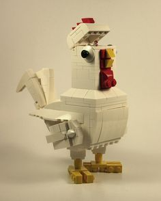 Chicken Walker. not sure if this is Lego.