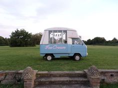 Ice-cream van at Anstey Hall, Cambridge