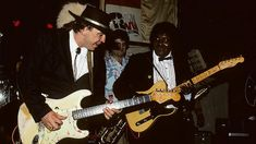 """Student Meets Teacher When Stevie Ray Vaughan Joins Albert Collins For """"Frosty"""""""