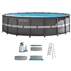 Best Intex Pool Reviews And Comparison Intex 18ft X 52in Ultra Xtr Pool Set With Sand Filte Above Ground Swimming Pools Best Above Ground Pool Swimming Pools