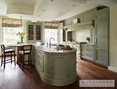 Up in Arms About Traditional English Country Kitchen - Pecansthomedecor Grand Kitchen, New Kitchen, Kitchen Wood, Kitchen Themes, Kitchen Colors, Kitchen Ideas, English Country Kitchens, Georgian Homes, Bespoke Kitchens