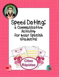 Spanish Speed Dating Activity