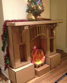 Demotivateur.fr | Fausse cheminée pour Noël