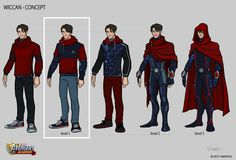 Wiccan was mentioned by Doctor Strange as a promising young sorcerer when he was looking to gather more members that could possibly join the Masters of the Mystic Arts. Seemingly those of the Wiccan of Marvel Concept Art, Marvel Art, Marvel Comics, Young Avengers, Marvel Avengers, Marvel Academy, Wiccan Marvel, Ipad Mini 4, Batman Y Superman