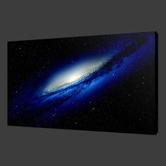 GALAXY SPACE STARS MODERN ART PICTURE PHOTO CANVAS PRINT 30 x 20 Inch WALL ART in Art, Canvas/ Giclee Prints | eBay