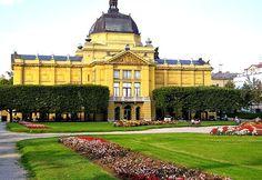 Art Pavillion in Zagreb, Croatia