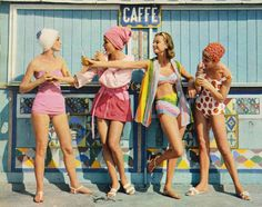 Sixties beach fashion feature