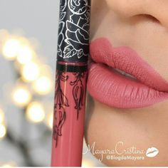 Pinterest: deletefeelings KAT VON D Everlasting Liquid Lipstick - Double dare