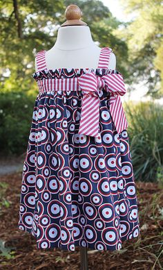 """Blakely's - """"Jo Jo Goes to the Parade"""" Dress, Pattern by Olive Ann Designs (5-31-12)"""