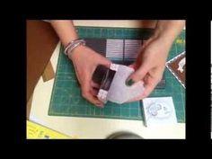 Scrapbooking: come realizzare delle buste spessorate - YouTube