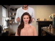 Bazaar Beauty: How to get sleek, voluminous hair - YouTube
