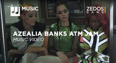 Azealia Banks re-releases ATM Jam with a new video