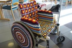 Maybe better pattern/colors, but I like the idea>>> See it. Believe it. Do it. Watch thousands of spinal cord injury videos at SPINALpedia.com
