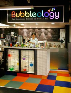 Coffee bar station, coffee area and coffee nook. bubble drink, b Bubble Tea Shop, Bubble Milk Tea, Coffee Area, Coffee Nook, Cafe Design, Store Design, Juice Bar Design, Bubble Drink, Coffee Bar Station