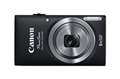 Canon PowerShot ELPH 115 IS 16.0 MP Digital Camera with 8x Optical Zoom with a  28mm Wide-Angle Lens and 720p HD Video Recording (Black) - http://electmecameras.com/camera-photo-video/digital-cameras/point-shoot-digital-cameras/canon-powershot-elph-115-is-160-mp-digital-camera-with-8x-optical-zoom-with-a-28mm-wideangle-lens-and-720p-hd-video-recording-black-com/