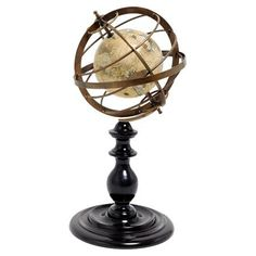 Image result for armillary sphere with globe inside