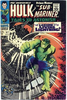 Drawing Marvel Comics Tales To Astonish No. 97 - Marvel Comics Group November featuring Sub-Mariner and The Incredible Hulk - Up for sale we have this issue of Tales to Astonish Hulk Marvel, Hulk Comic, Marvel Comic Books, Comic Art, Avengers, Silver Age Comics, Incredible Hulk, Amazing Spider, Character Drawing