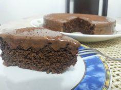 Bolo de chocolate Dukan