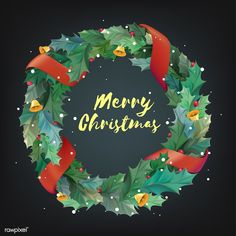 Illustration of Christmas wreath icon Christmas Decoration Items, Christmas Wreaths, Christmas Ornaments, Christmas Labels, Christmas Icons, Vector Christmas, Christmas Cards, Xmas Greeting Cards, Merry Christmas Greetings