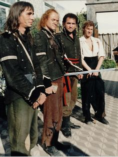 "Sharpe and his Chosen Men in ""Sharpe's Sword"""
