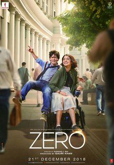 Zero is a movie starring Shah Rukh Khan, Anushka Sharma, and Katrina Kaif. The story revolves around Bauua Singh (Shah Rukh Khan), a vertically. New Movies 2018, New Movies To Watch, Latest Movies, Movies Online, Hindi Movies, Srk Movies, Comedy Movies, Film Vf, Film Movie