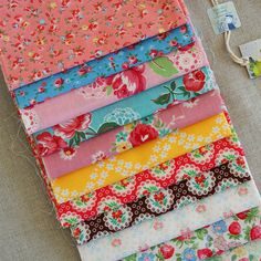 old new fabrics by lecien by nanaCompany, via Flickr