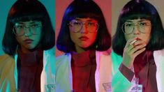 Azumi Fujita in Maniac Best Beauty Tips, Beauty Hacks, Maniac Netflix, Good Beauty Routine, Shot Film, Ghost In The Machine, Ex Machina, Music Film, Aesthetic Images