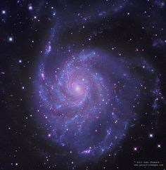 Pinwheel Spiral Galaxy in Ursa Major