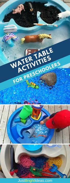 We've got 12 super fun water table activities for preschoolers and toddlers that can be enjoyed indoors and outside. These activities are great sensory play ideas for autistic children too!